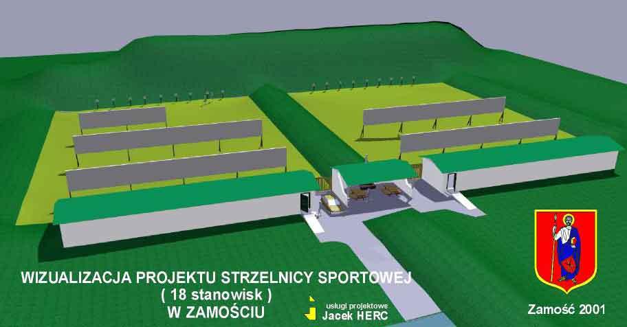 "Klub ""VIS"" – Projekt Strzelnicy"